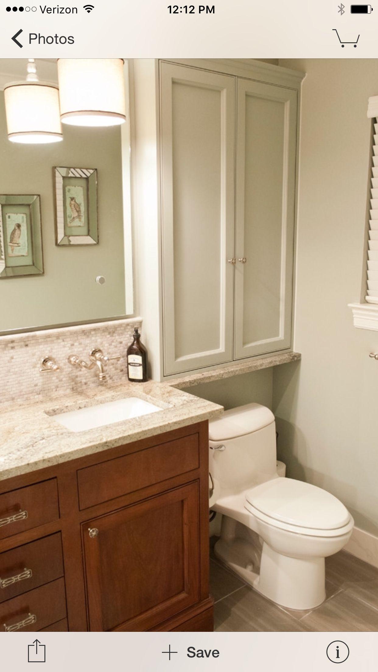 Cabinet Over Toilet For Small Bathroom Small Bathroom Bathrooms