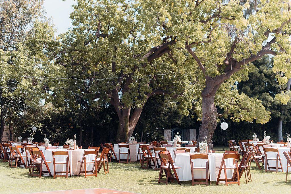 An Oak Canyon Nature Center Rustic Charm Wedding Wedding Reception