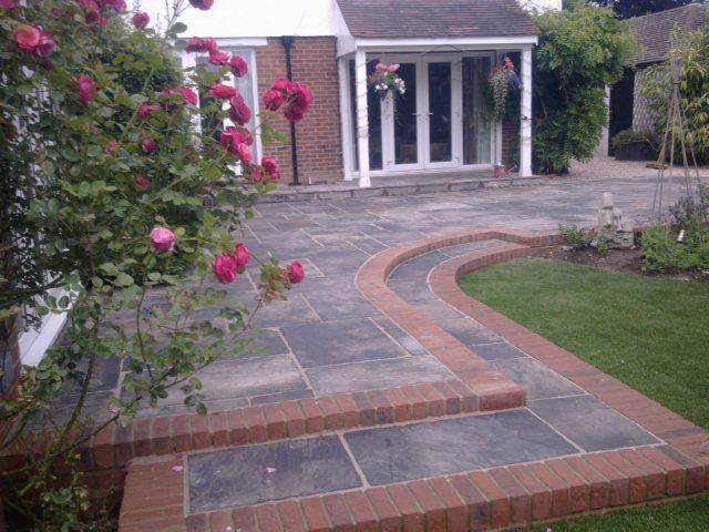 Image Result For Red Brick House With Patio Red Brick House