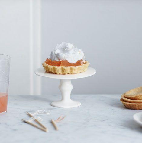{flavor stories} spring grapefruit tartlets. by Nikole Herriott for Oh Joy
