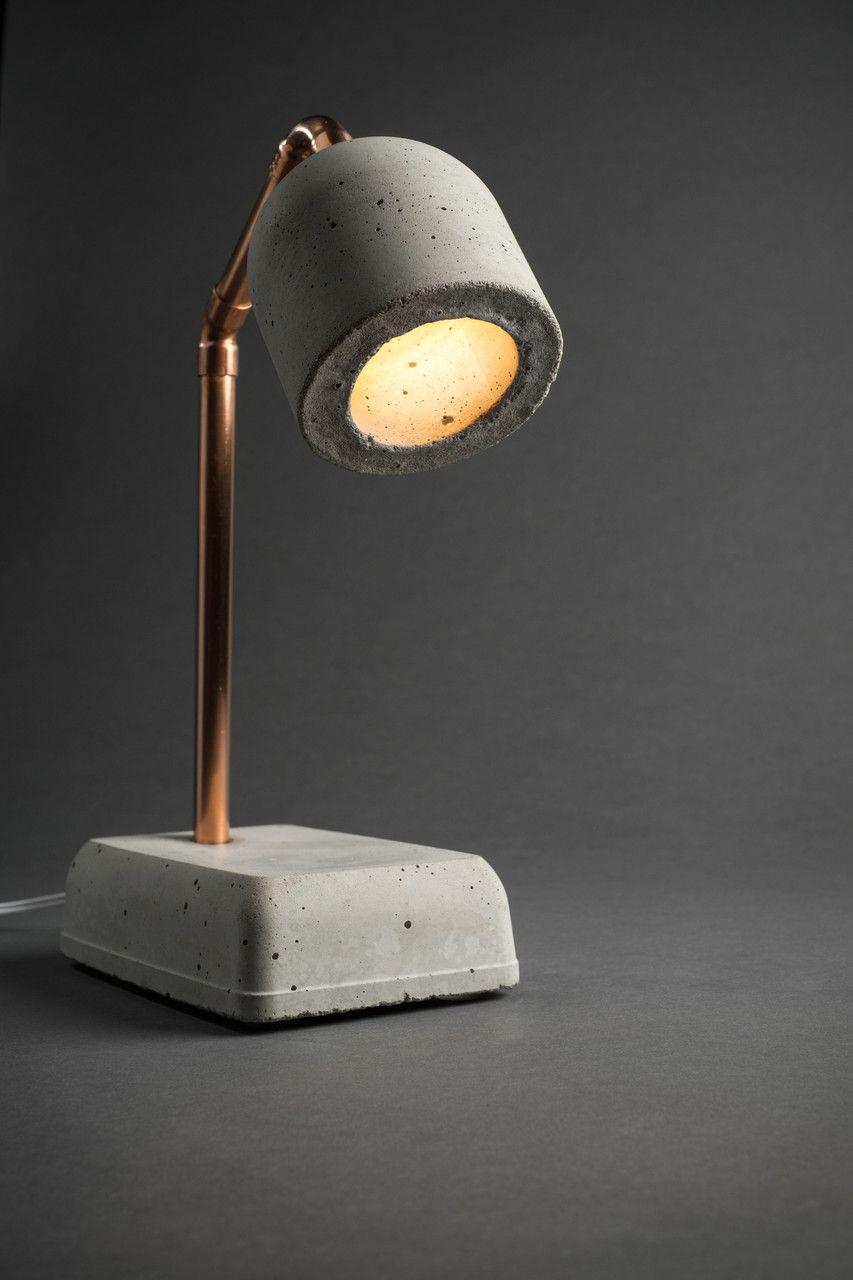 Liebenswert Coole Nachttischlampe Beste Wahl Concrete Bedside Lamp