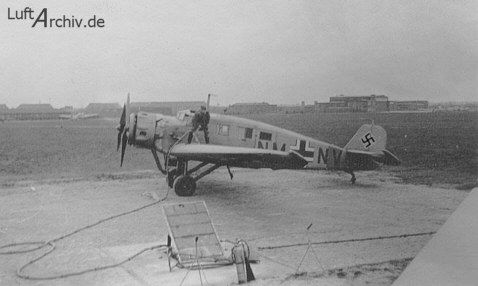 Junkers Ju W34 altrough the last produced  Junkers W34 was delivered in 1934 to the Luftwaffe the served until the end off the War