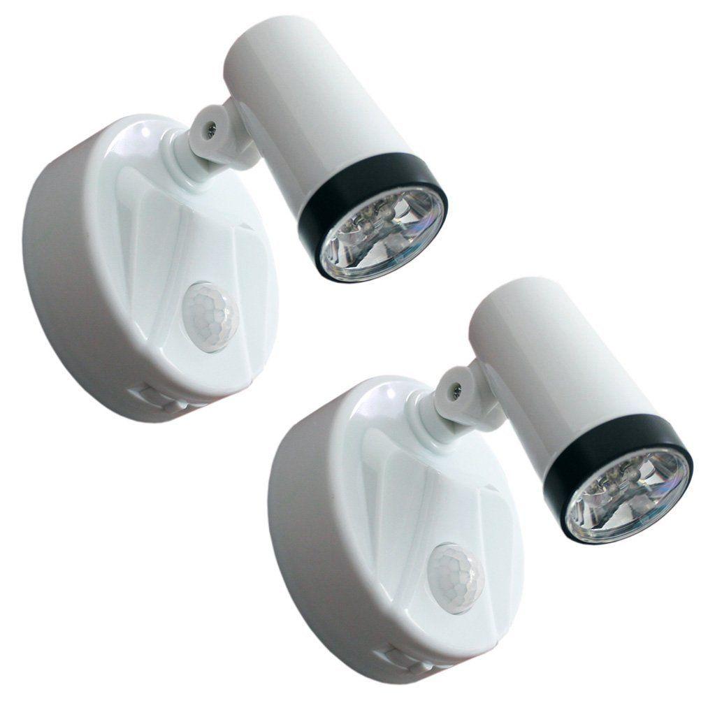 2 Pack Night Light 360 Degree Rotating Led Night Lamp Battery Powered Motion Sensing Koocat 7 Led Bulbs High Lighting Au Led Night Lamp Led Bulb Night Light