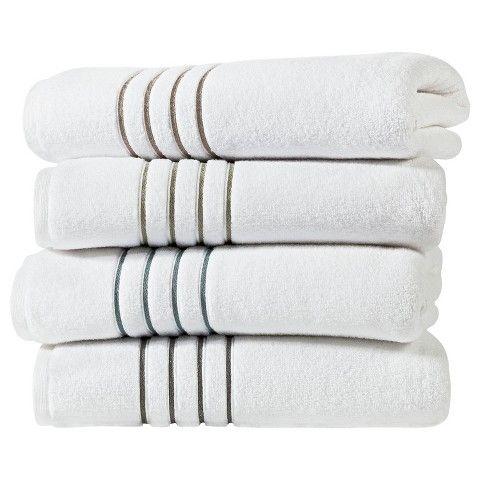 Fieldcrest Luxury Stripe Accent Bath Towels Aqua Stripe Bath - Fieldcrest bath towels for small bathroom ideas