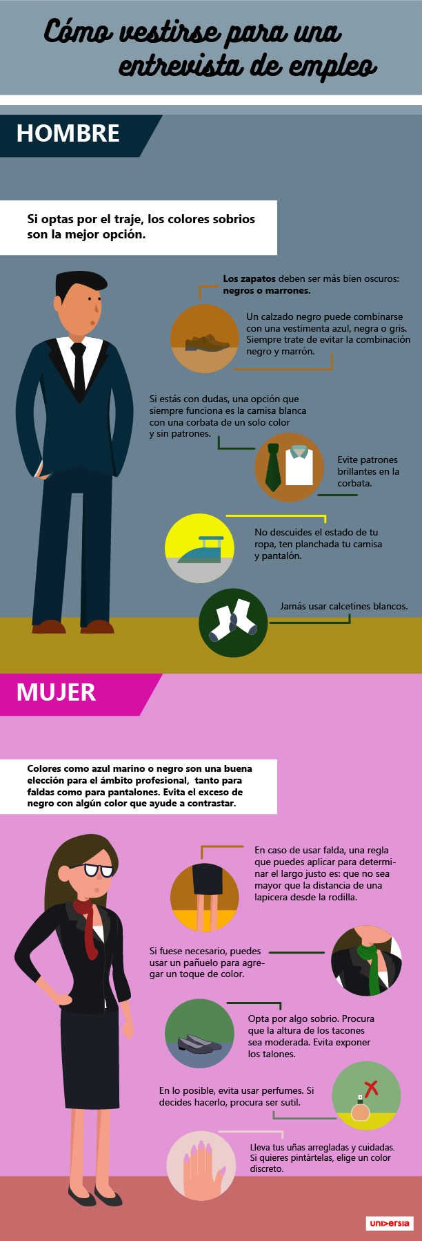 Como Ir Vestido A Una Entrevista De Trabajo Infografia Entrevista De Trabajo Entrevista De Trabajo Tips Entrevista