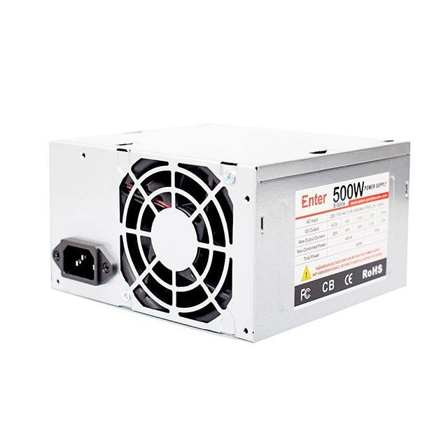 Enter SMPS Power Supply 500w -SPECIFICATION -500W computer power ...