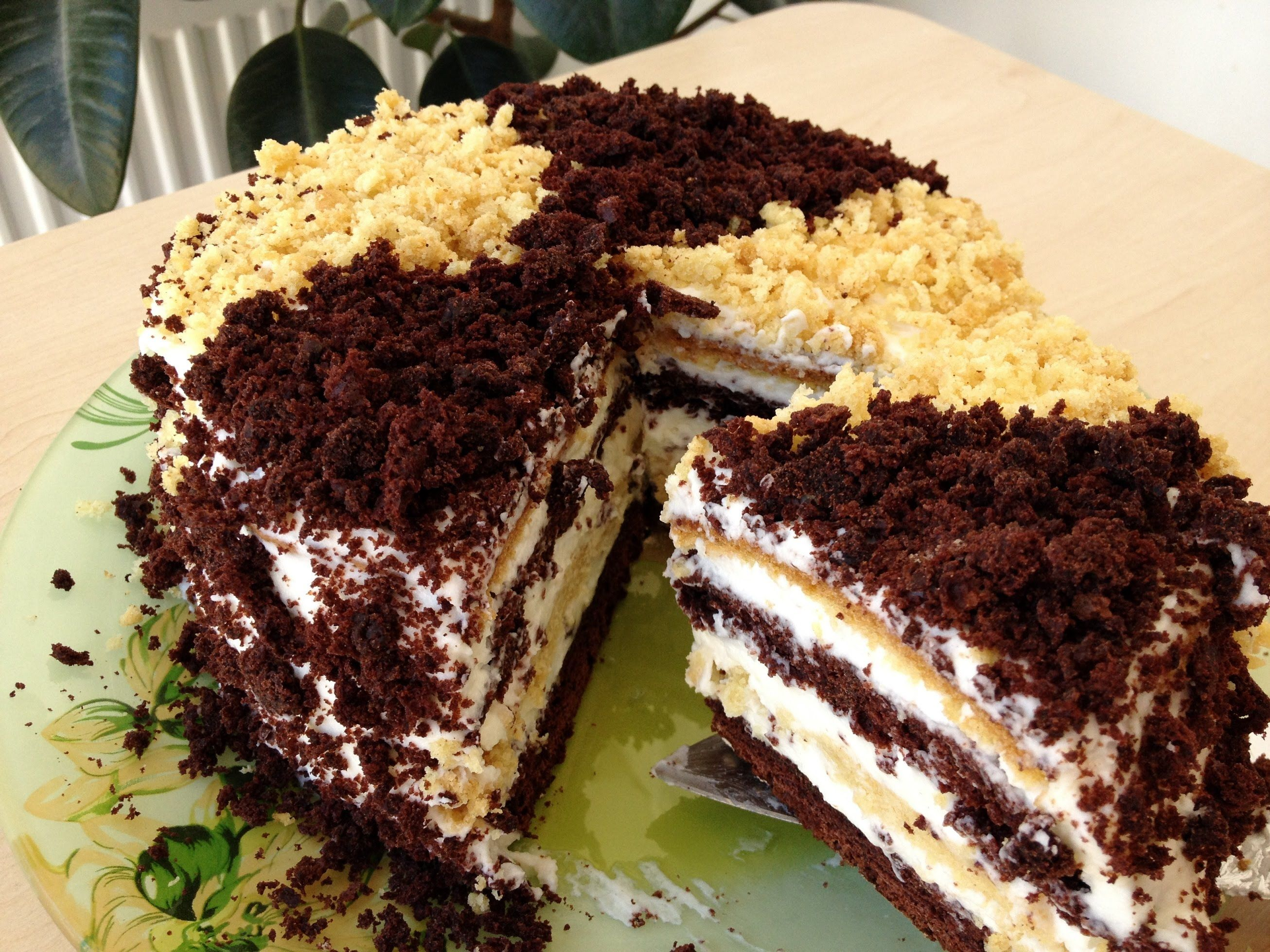 пошаговый рецепт с фото торт сметанник