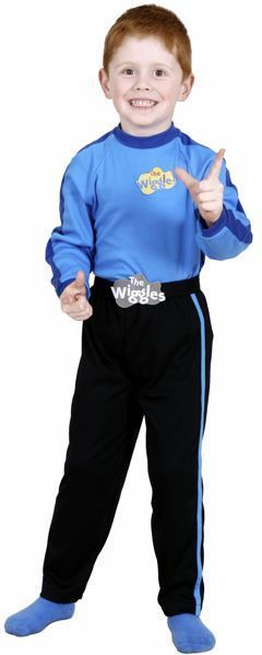 The Wiggles Anthony Blue Dress Up Boys Costume Sz 2 - 4 #Licensed  sc 1 st  Pinterest & The Wiggles Anthony Blue Dress Up Boys Costume Sz 2 - 4 | Costumes
