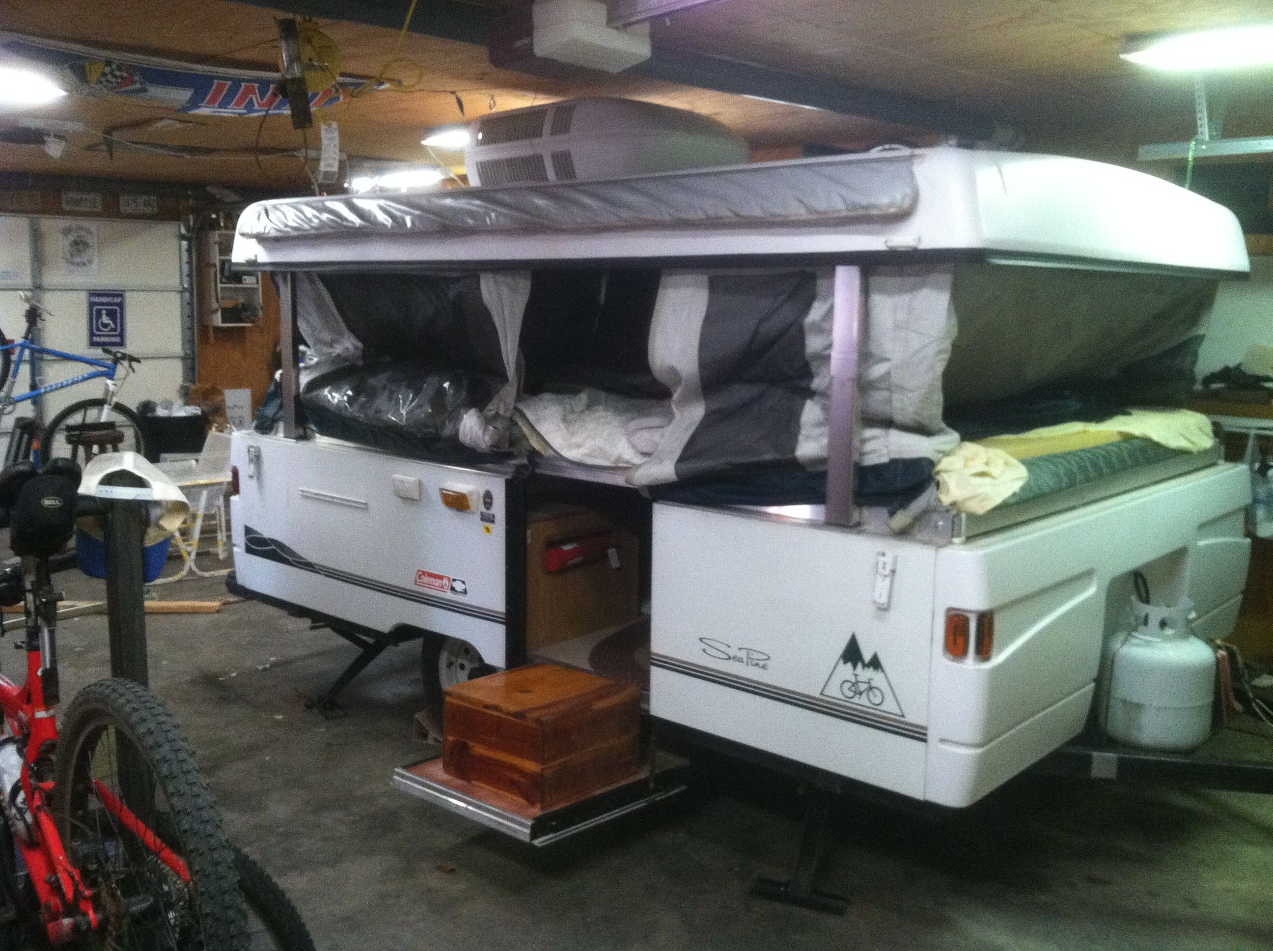 Grizzly Grip Coleman Roof Repair Write Up Pop Up