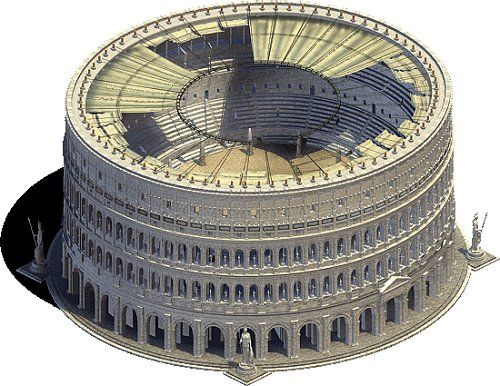 The Colosseum Took 12 Years To Build And Used 300 Tons Of