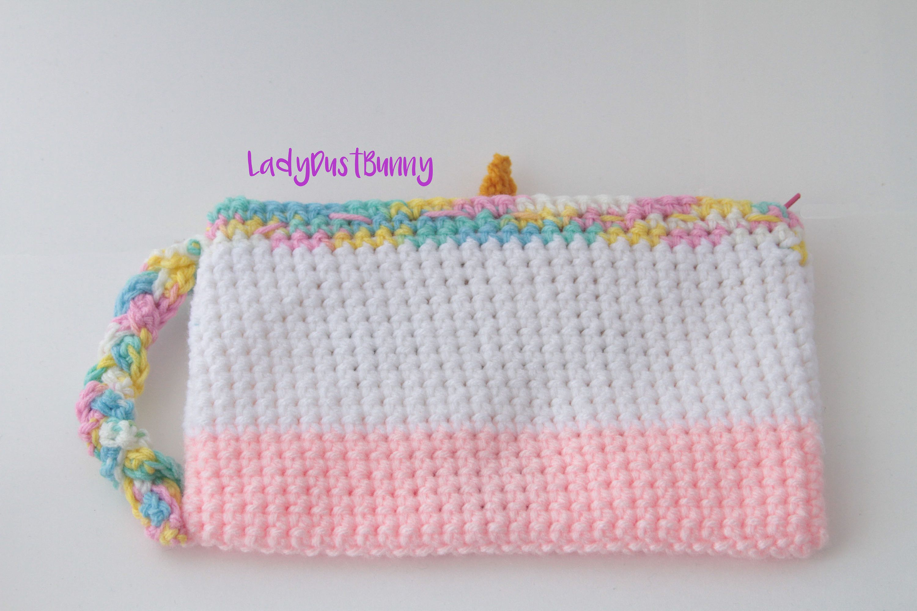 Crochet Unicorn Pattern, Unicorn pencil case pattern, crochet ...