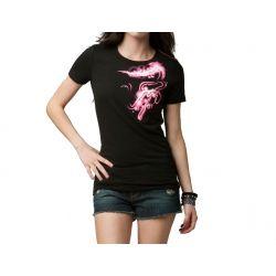 2013 Fox Racing Voltage Crew V Neck Casual Motocross Short Sleeve T-Shirt Tee