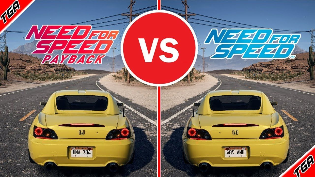 ✅Need For Speed Payback vs Need For Speed 2015 - Graphics