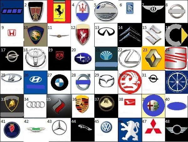 cars names car logos