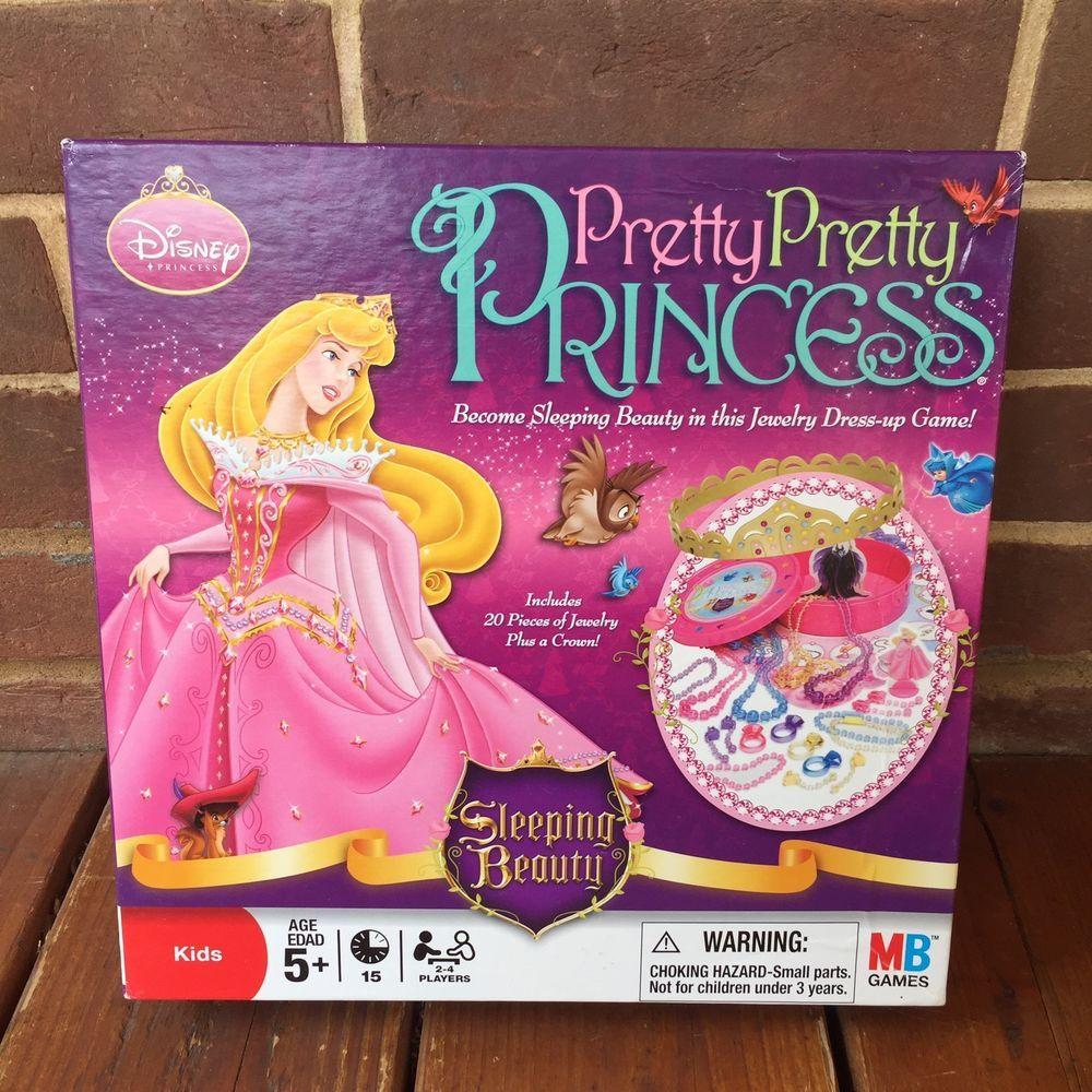 Pretty Pretty Princess Sleeping Beauty Board Game 2008