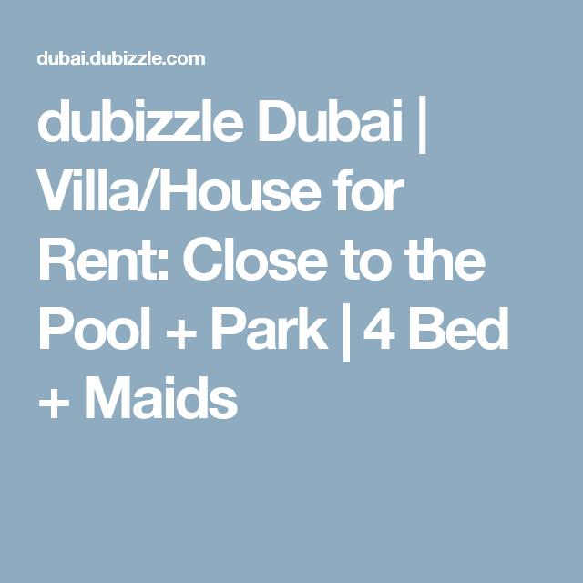 dubizzle Dubai | Villa/House for Rent: Close to the Pool +