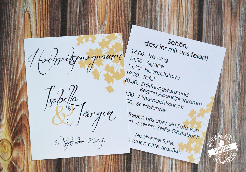 Hochzeitszeremonie Ablauf