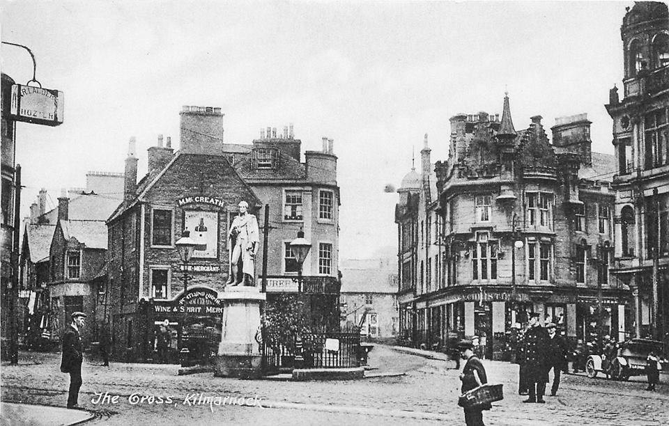The Cross, Kilmarnock 1921 This is where Ross's