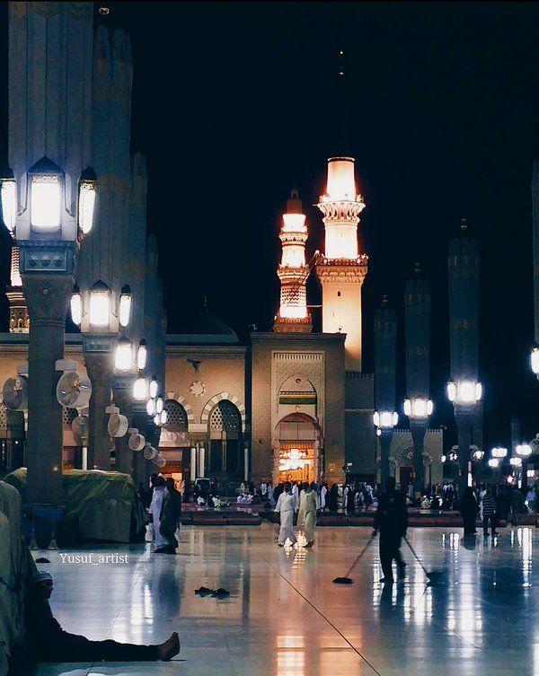 و لو أني ملكت زمام أمري تركتكم و سرت إلى المدينة هناك هناك ألقى أ نس نفسي و تأخذني من الوجع السكينة Beautiful Mosques Masjid Mosque