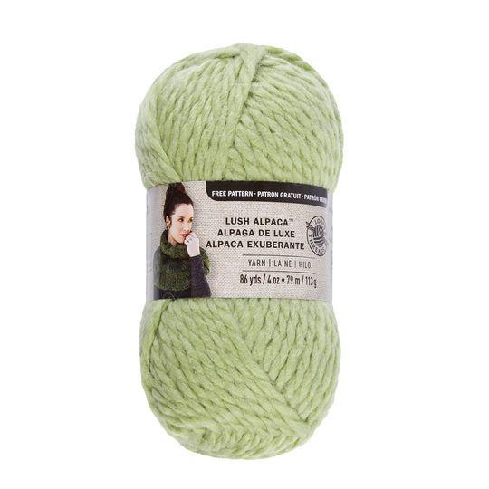 653c2476481 Lush Alpaca Yarn By Loops   Threads in Light Green