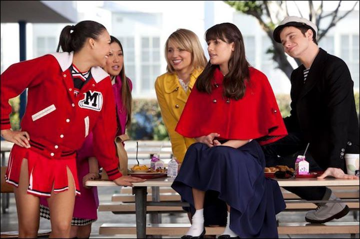 """Behind the scene photo from the """"Yes/No"""" episode. Original Air Date 1/17/2012"""