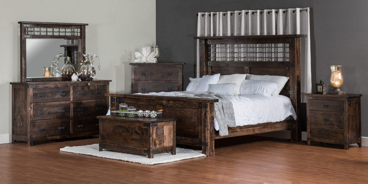 Up To 33 Off Ironwood Rustic Bedroom Set Amish Outlet Store Rustic Bedroom Sets Amish Furniture Bedroom Bedroom Collections Furniture
