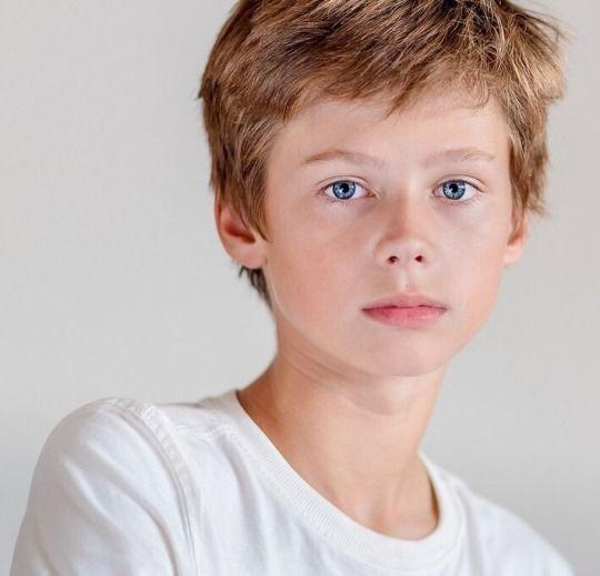 Very Young Teen Boy Model
