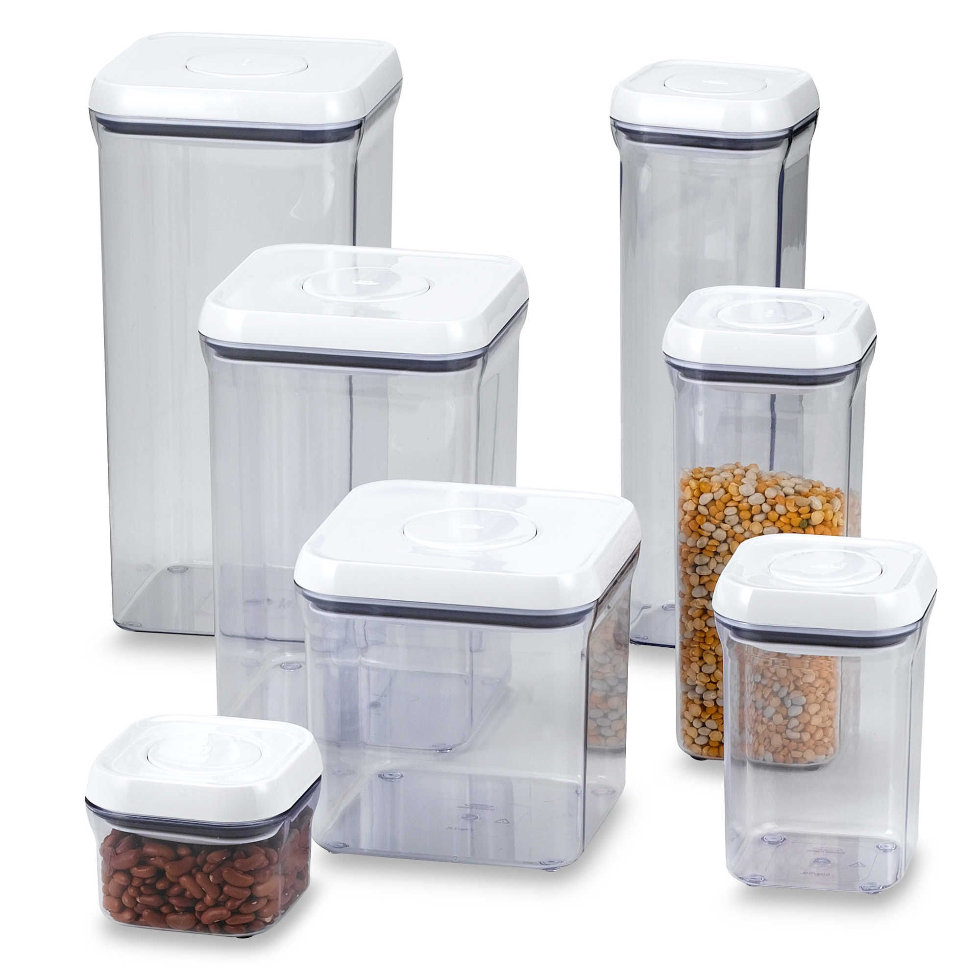 Pantry Food Storage Containers: MOM: ... The OXO Good Grips® Square Food Storage POP