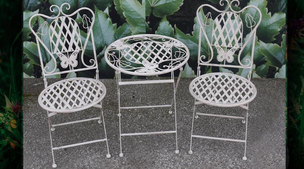 Emejing Petit Salon De Jardin Blanc Images - Amazing House Design ...