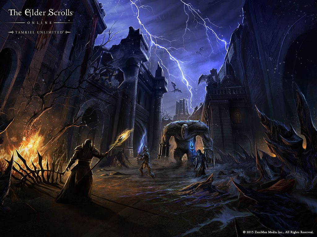 Media Wallpapers Elder Scrolls Online Elder Scrolls Online