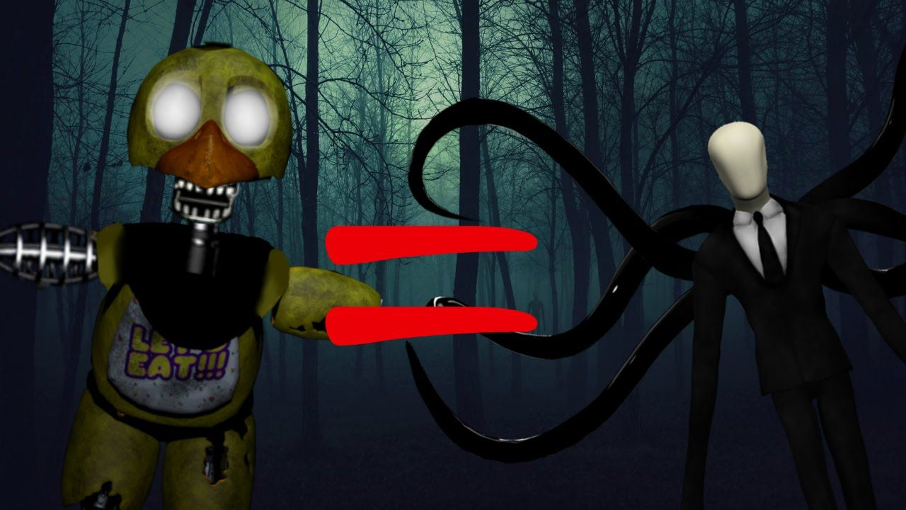 Chica Is Slenderman! - The Joy of Creation: Reborn #3 | Five