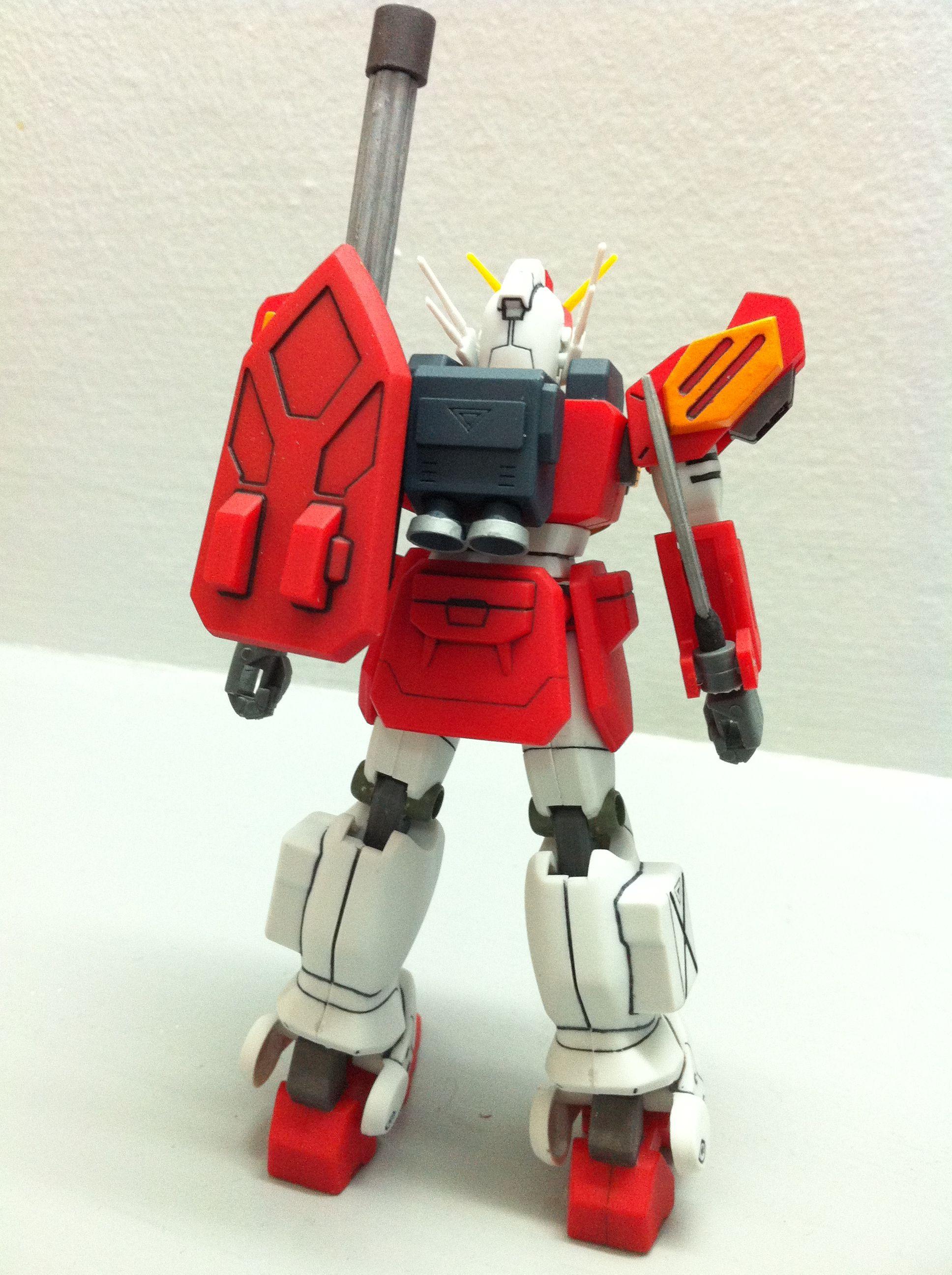 Back View No Grade 1 144 Gundam Heavy Arms Gunpla Mg Rx78 2 Verka 114215 Bandai