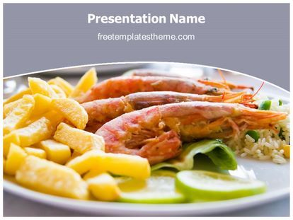 Download Free Sea Food Powerpoint Template For Your