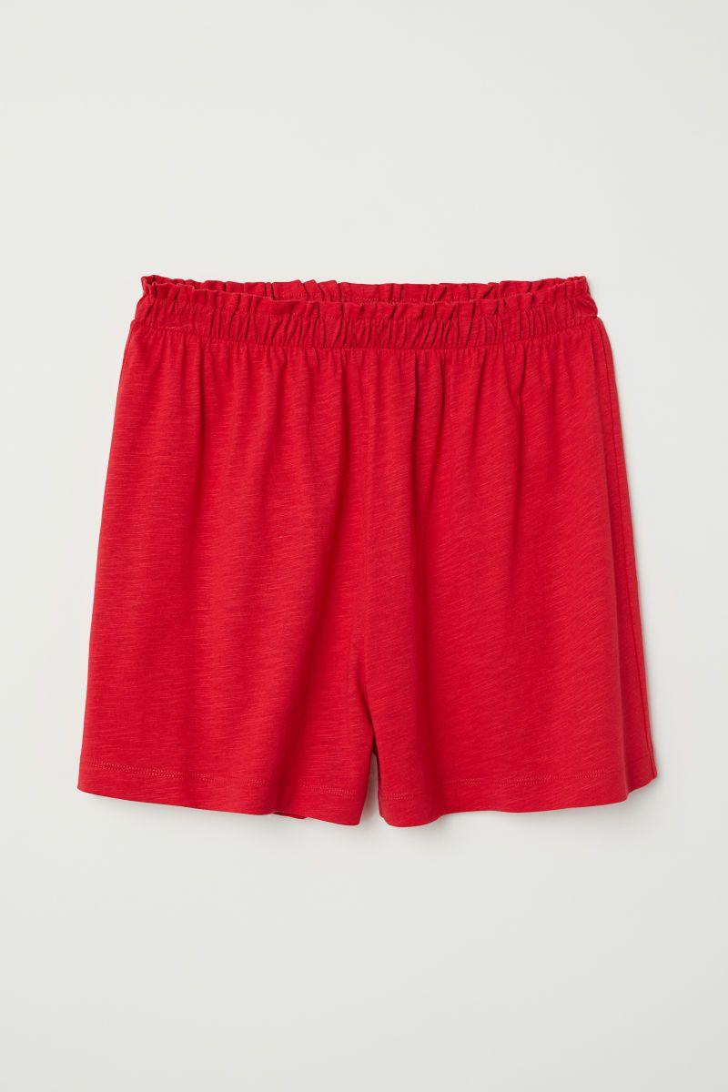 020d95a81730c Modal-blend shorts | Red | LADIES | H&M ZA | H&M | H&m, Jersey ...