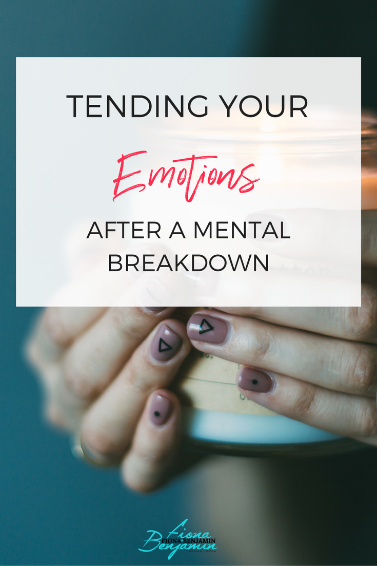 what to do after a nervous breakdown