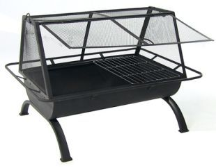 The Northland Fire Pit Also Comes With A Cooking Grate Making It A Good Item For People Who Enjoy With Images Fire Pit And Grill Combo Wood Burning Fires Fire Pit