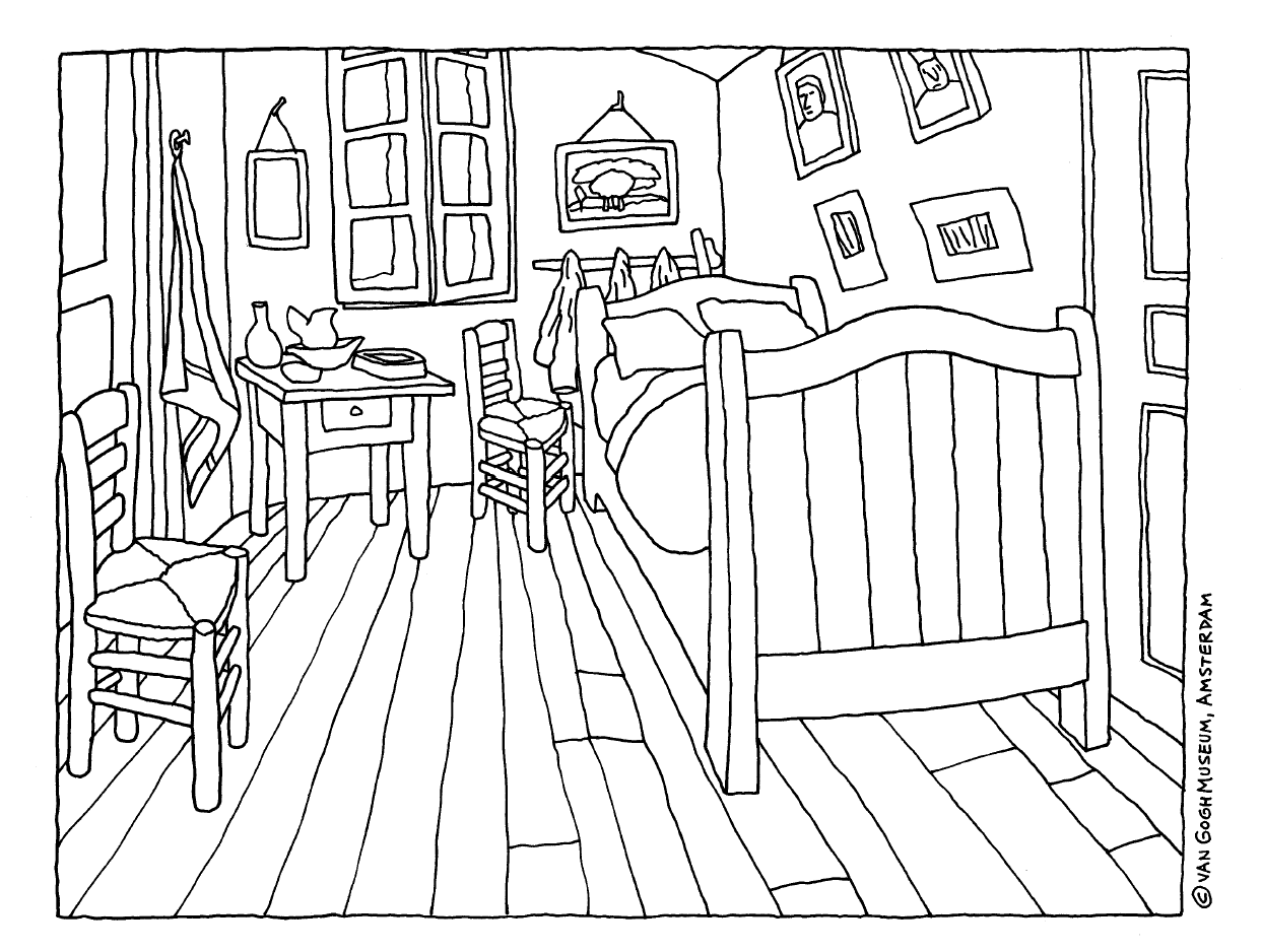 coloring pages for adults famous artists google search פאזל