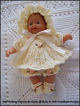 FREE Angel Set 7-12 inch doll-angel top, pants, shoes ...