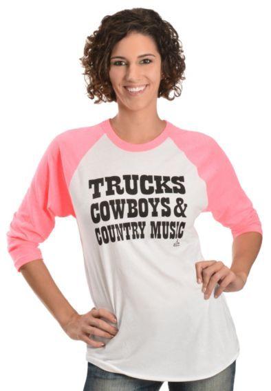 Ali Dee Trucks, Cowboys & Country Music T-Shirt - Sheplers