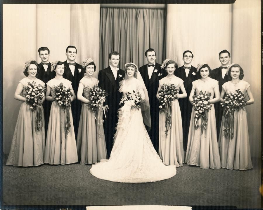 Bride-1940's Brides & Grooms Of The Past 1920′s