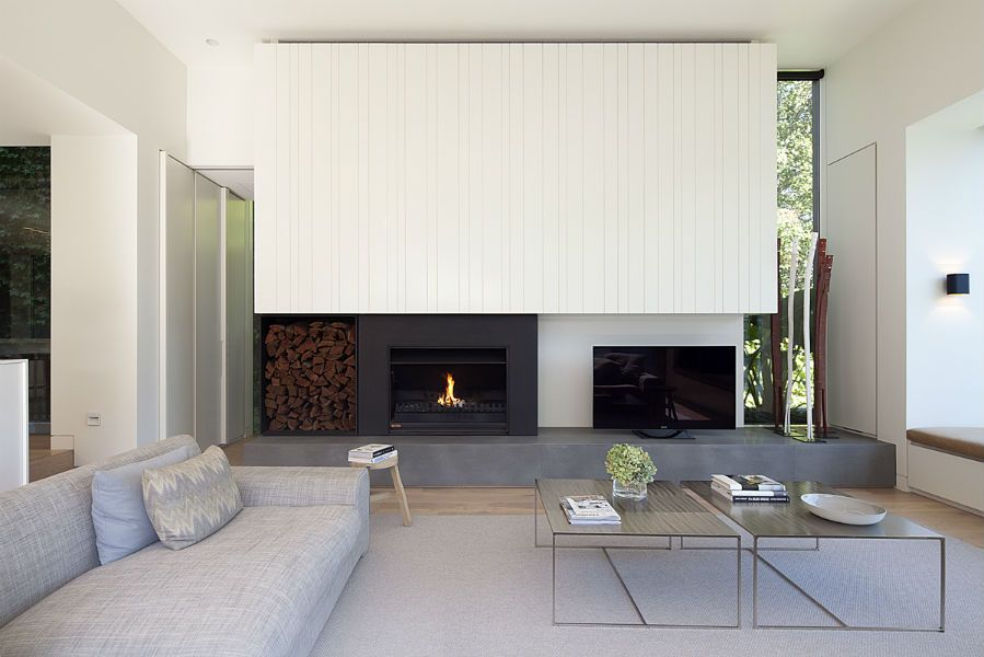 View House - Neil Architecture Fireplaces Pinterest