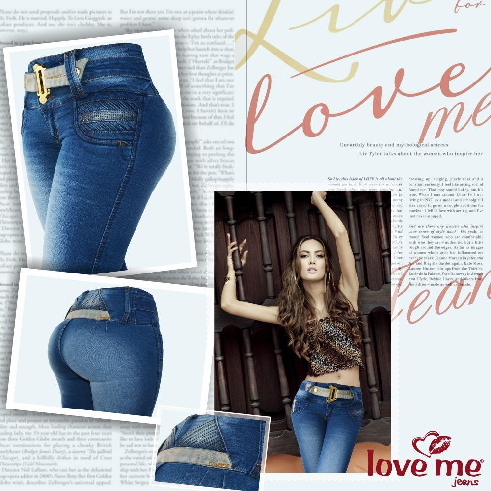 www.lovemejeans.com #lovemejeans #jeanslevantacola #pushup ...