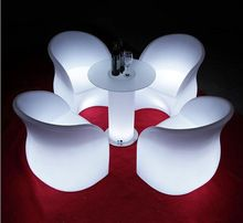 LED clear acrylic chairs