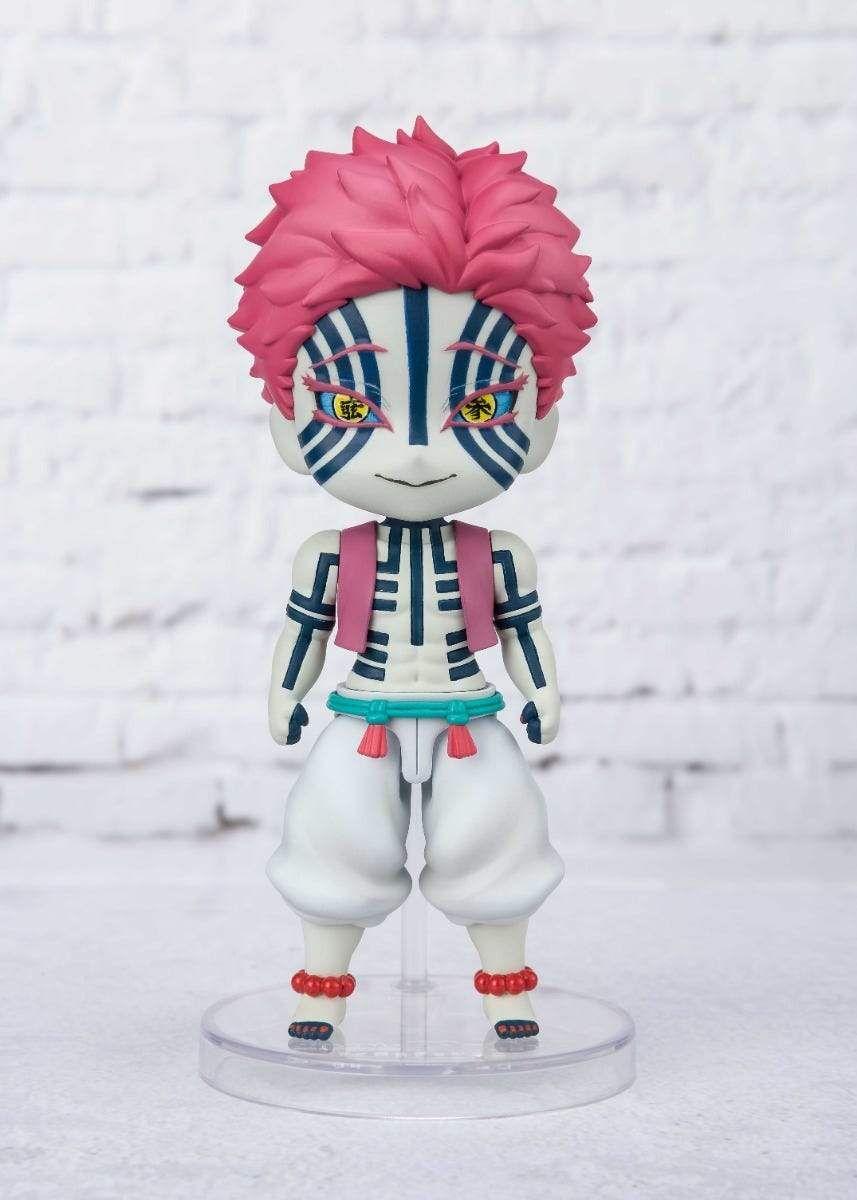 Akaza Figuarts Mini Figure Demon Slayer Kimetsu No Yaiba In 2021 Slayer Bandai Demon