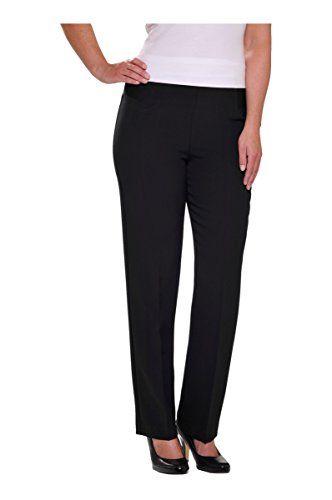 Alia Nygard Womens Plus Size Pull-On Straight Leg Pant
