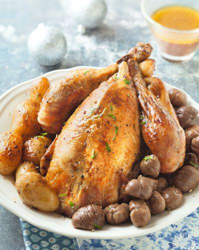 Recette de noel poulet