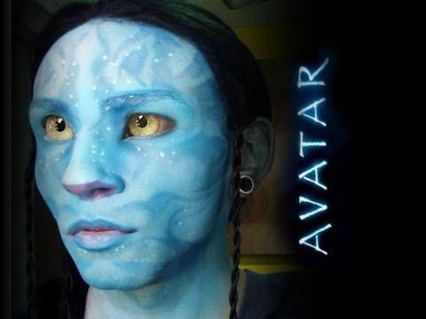 Home Made Non-Toxic Face Paint Makeup Recipes   Avatar makeup ...