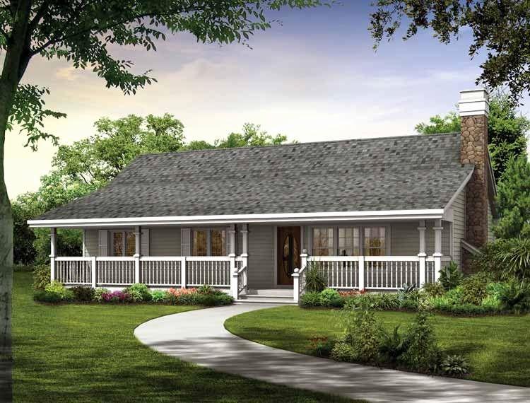 Single Storey Small Farm House Plans Luxury Single Level Farmhouse
