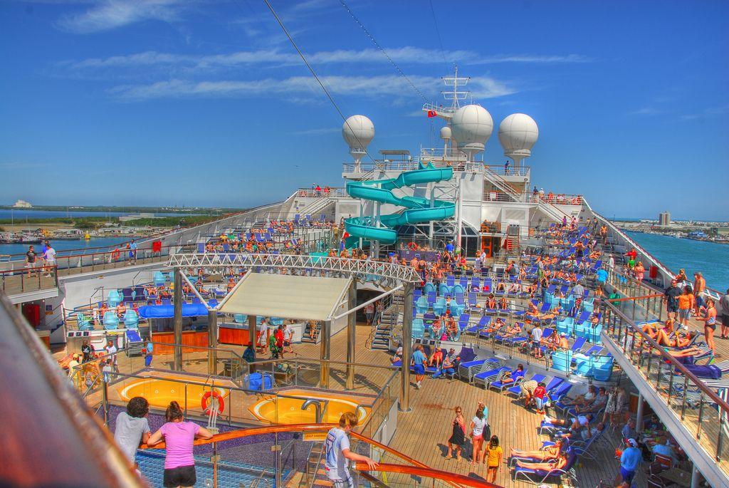 Lido Deck | Carnival glory, Lido deck, Cruise