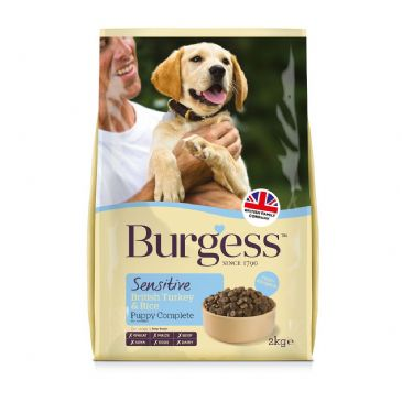 Burgess Sensitive Puppy Turkey Rice Dog Food In 2020 Dog Food Recipes Dog Food Comparison Dog Food Ratings